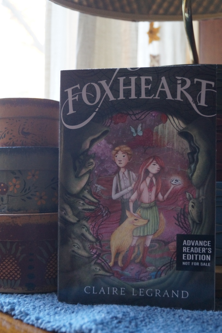 Book Review: Foxheart by Claire Legrand