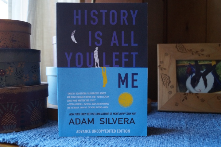 Book Review-History Is All You Left Me by Adam Silvera