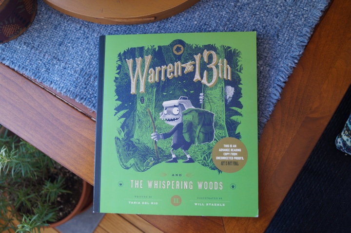 Book Review- Warren the 13th and the Whispering Woods by Tania Del Rio and Will Staehle