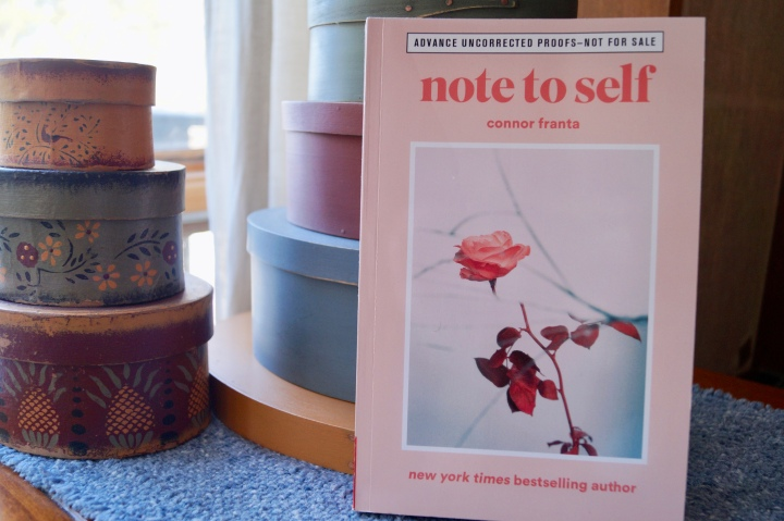 Book Review- Note To Self by Connor Franta
